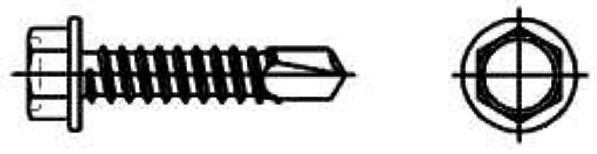 lot de 1000 Dresselhaus Vis /à t/ête hexagonale avec per/çage de trousseau de K m/étal galvanis/é 3,5/x 16/mm