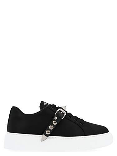 Luxury Fashion   Prada Dames 1E813LF045W08F0IAU Zwart Polyamide Sneakers   Herfst-winter 19