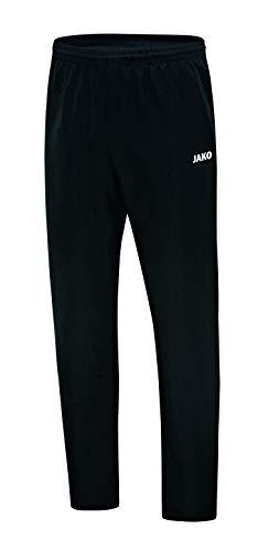 JAKO Herren Präsentationshose Classico Freizeit- Und Jogginghose Lang, schwarz, XL