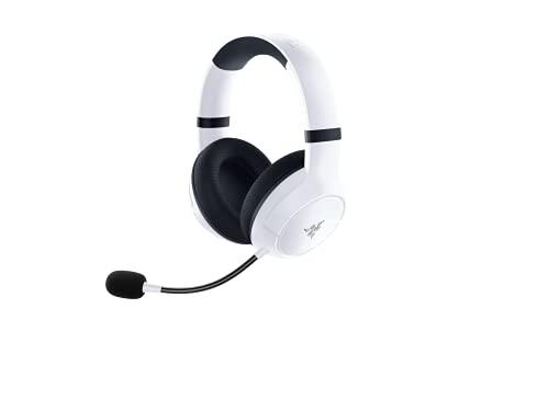 Kaira for Xbox - White sedia da scrivania/ufficio, pelle sintetica multistrato, imbottitura in schiuma, cuscino poggiatesta, regolabile in altezza, nero/verde