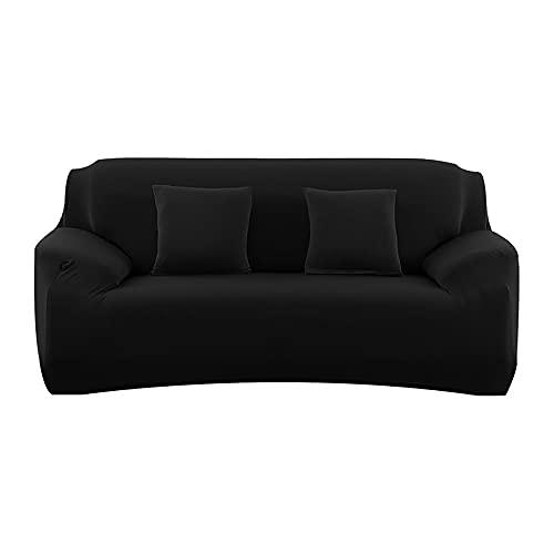 LOVCCIE Cubre Sofa, Funda De Sofá Elástica con Todo Incluido, Esquina De La Sala De Estar, Funda De Sofá De Color Sólido En Forma De L, Funda Antipolvo para El Sofá