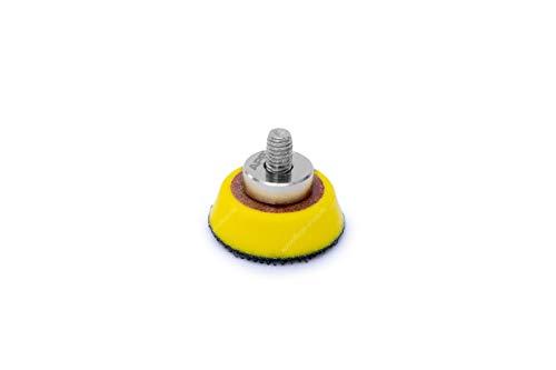 APS Pro LP30 - Ø30mm Stützteller Klettteller und Verlängerungsadapter für Liquid Elements A1000 Minipoliermaschine (30mm Stützteller)