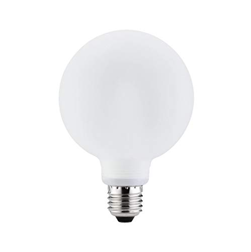 Paulmann 880.56 spaarlamp Globe Ø100 mm 10 W E27 satijn wit 88056 lamp