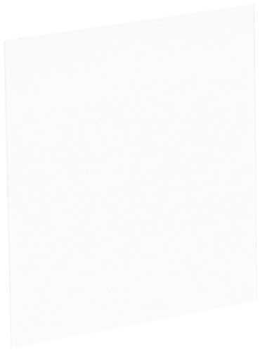 Fisher Scientific 12-542B Glass Cover, 2' Item Length x 2' Item Width, 0.13 mm to 0.17 mm Circles Thickness, 22 mm Size