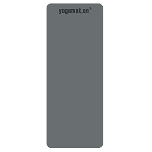 Esterilla de Yoga Caucho Natural Masculino y Femenino Tercera Edad Estera de Yoga Antideslizante (Color : C)