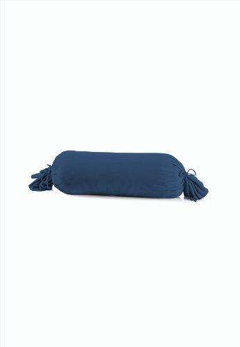 schlafgut 031-137 Mako Jersey Kissenbezug / 15 x 40 cm, Marine