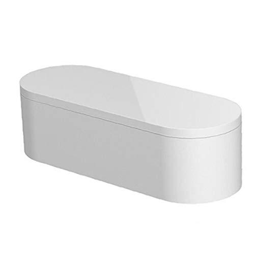 Almacenaje de la joyería pendiente de caja de almacenamiento de almacenamiento Organizador de maquillaje de uñas de envase vacío Box Caja de Herramientas especiales de uñas pluma de la caja blanca
