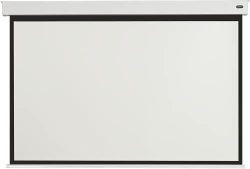 celexon akkubetriebene Motorleinwand Batterie Pro - elektrische Heimkino- und Business-Leinwand inkl Akku - No Plug just Play Leinwand - 160 x 120 cm