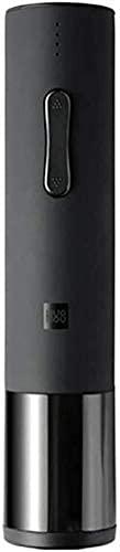 LITINGT Tire-bouchon à Vin électrique entièrement automatique ménage Rechargeable ouvre-Vin tournevis commodité (Couleur: Noir)