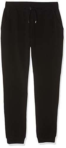 Marca Amazon - find. Pantalón Jogger Mujer, Negro (Black), 36, Label: XS