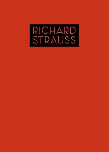 Lieder mit Klavierbegleitung op. 46 bis op. 56: Singstimme und Klavier. Partitur. (Richard Strauss Werke · Kritische Ausgabe (RSW))