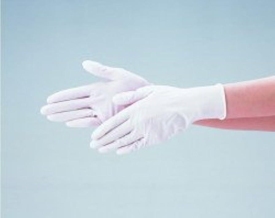 シーフードリスナー助けてエブノ ニトリル手袋 No.525 L 白 (100枚入×20箱) ディスポニトリル パウダーフリー ホワイト