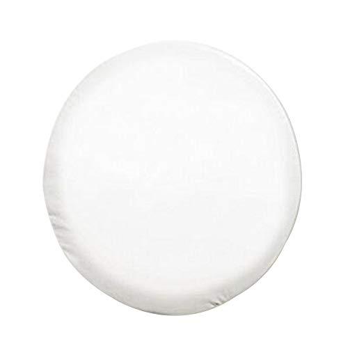 Etopar Blanco 13' Pulgadas Cubierta de llanta de Refacción Cubierta Neumático Diámetros (55cm-58cm/22-23) Coche Impermeable Prueba de Polvo Protección