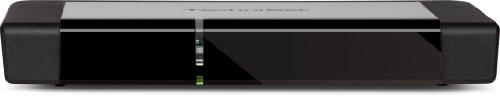 TechniSat TECHNIBOX K1 CSP Kabel-Receiver mit Single-Tuner für Empfang in HD, LED-Display, integriertes Conax-CSP-Entschlüsselungssystem, schwarz
