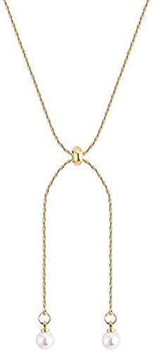 ZGYFJCH Co.,ltd Collar Mujer Clavícula Cadena Collar Regalo