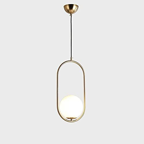 LLLKKK Lámpara de araña moderna y sencilla para el hogar, color dorado