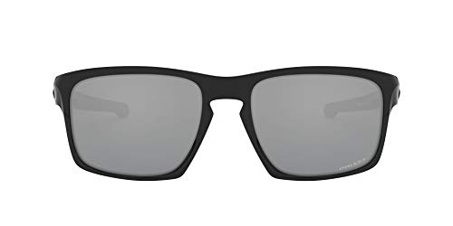 Oakley Sliver Gafas de sol, Negro, 57 para Hombre