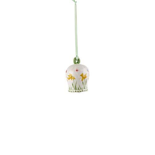 Villeroy & Boch New Flower Bells Ornament 'Easter Bell', Porcelain, Green/Yellow
