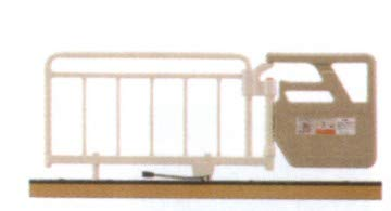 フランスベッド 別売り 超低床リクライニングベッド FLB-03J 用 ベッド用グリップ GR−510 1本1組 グレー色