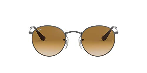 Ray-Ban MOD. 3447N Ray-Ban Sonnenbrille MOD. 3447N Rund Sonnenbrille 50, Silber