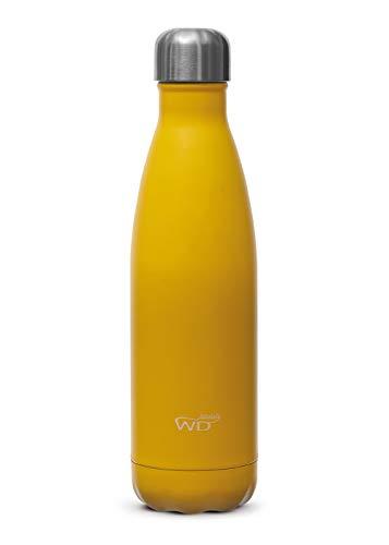 WDLIfestyle Bottiglia Borraccia Termica cl 500 Gialla