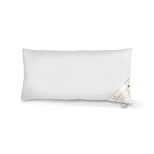 Medicate Soft Comfort atmungsaktives Mikrofaser Kopfkissen 40 x 80 cm, waschbar 60 Grad, Herstellung in Deutschland
