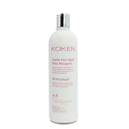 KOKEN - Aceite hidratante con Rosa Mosqueta   500ml   Especial Post-Depilación   Efecto calmante. Loción post-depil.