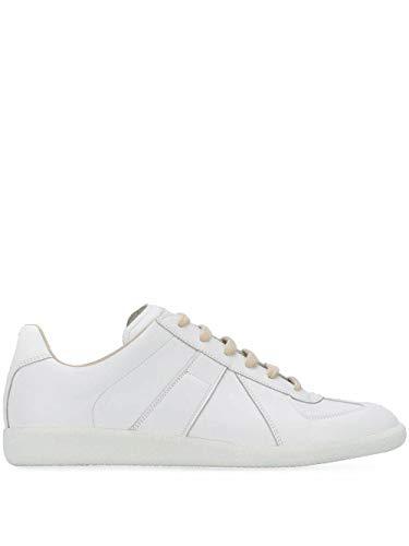 Maison Margiela Luxury Fashion Herren S57WS0280P2712T1003 Weiss Leder Sneakers   Frühling Sommer 20