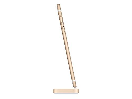 Apple MQHX2ZM/A Lightning Dockingstation für iPhone X 8 7 6S 6 5S 5C 5 und alle Plus, Gold