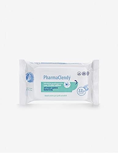 Clendy - PharmaClendy doekjes Imb. Antibacterieel met chloorhexidin, 12 stuks x 3 zakken