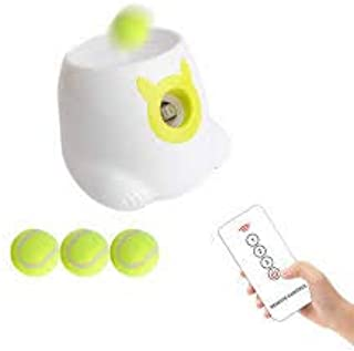 New Brand Good Design Play Game Dog Interactive Ball Launcher for Dogs with Tennis Balls with Remote Control Dog Cat