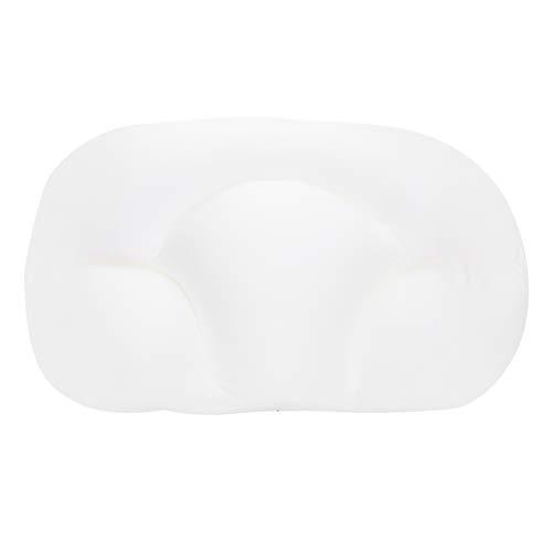 Emoshayoga Almohada Duradera Almohada de Espuma para automóvil para Cualquier Postura al Dormir para Mantener la Postura de Dormir de Lado para Dormir(White)