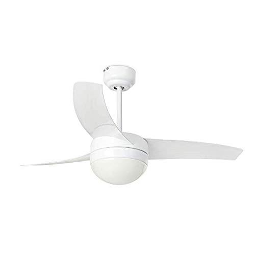 FaroXINLEE 33415 - EASY Ventilador de techo blanco [Clase de eficiencia energética A +]