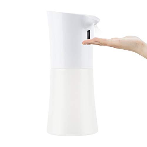 YKLSTech Smart Máquina de lavado automático de manos con sensor IR sin contacto con alcohol, pulverizador IPX4, resistente al agua, 500 ml, pulverizador de alta capacidad