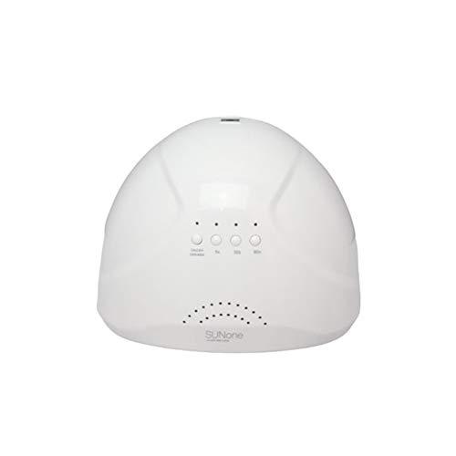 Lámpara LED de uñas de gel de 48 W, lámpara de secado con 30 luces LED/sensor/3 temporizadores (5s, 30s, 60s) para esmalte de uñas de gel UV