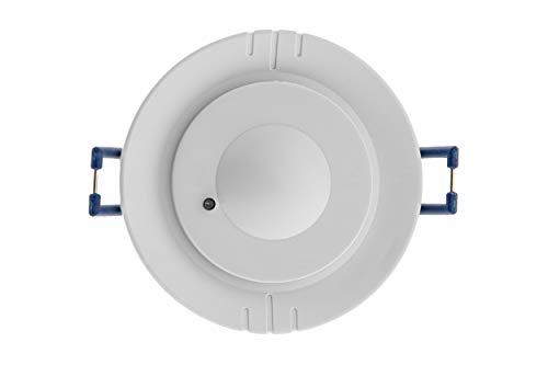 HUBER MOTION 66HF Bewegungsmelder 360° für Innen - einfach einstellbar - Unterputz Bewegungsmelder, Deckenbewegungsmelder für LED geeignet, 3-Draht-Technik