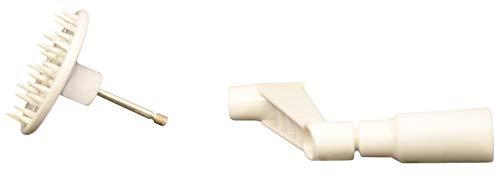 Brieftons Countertop Spiralizer: Pack of Turning Handle & Vegetable Holder