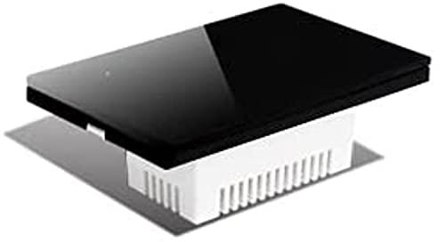 KFJZGZZ Interruptor Tactil Interruptor táctil de Pared, 2/3 vía, Panel de Vidrio Sensor táctil Interruptor 1/2/3/4 pandilla Interruptor Inteligente
