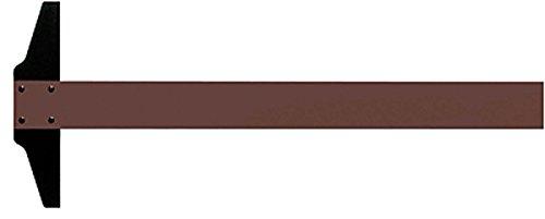 Rumold Zeichenschienen/344070 70cm braun Kunststoff