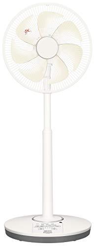 パナソニック リビング扇風機 DCモーター 温度センサー搭載 切/入タイマー付 シルキーベージュ F-CS338-C