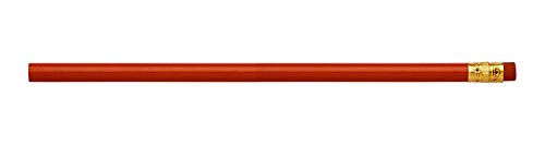 Pencil Guy Blank Round Pencils Red 144 to a box - Black Lead