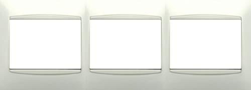 Bjc - 21213 marco 3 elementos horizontal coral blanco Ref. 6530510183