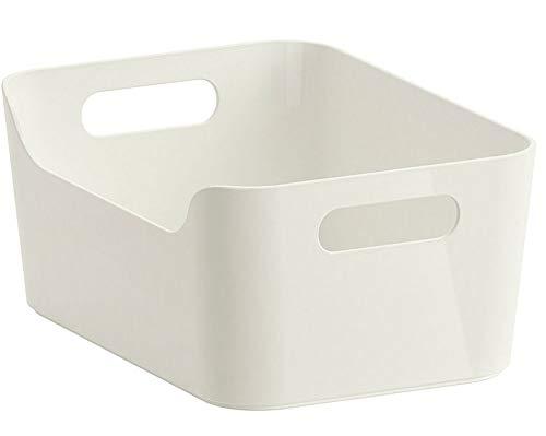 Ikea Variera Convenient Kitchen Open Storage Box, High Gloss White
