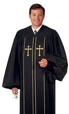 Religious Supply Men's Plymouth and Pilgrim Robe