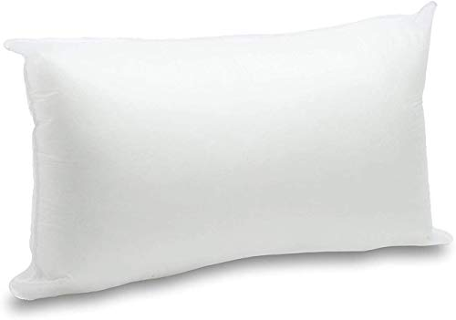 Relleno de cojín Totalmente Transpirable y Lavable Relleno para Fundas Decorativas, Tacto Muy Suave, Fibra Hueca. (30x50cm)