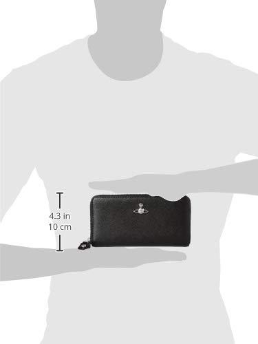[ヴィヴィアンウエストウッド]ラウンドファスナー長財布VICTORIA51050023BLACK[並行輸入品]