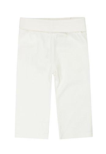 Steiff - Pantalon - Mixte Bébé, Ecru - Off-White (Cloud Dancer), FR : 12 mois (Taille fabricant : 80)