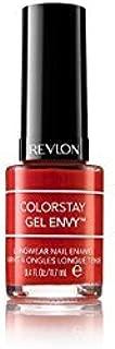 Revlon Colorstay Gel Envy Long Wear Nail Enamel, Fashion- Orange Gel Lucky, 11.7ml
