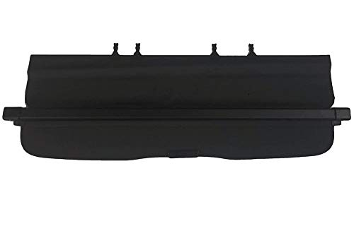 kaungka Cargo Cover Retractable Compatible for 14-18 Subaru Forester Black (with Manual Rear gate) (not fits for Power Rear gate)