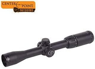 Center Point 3-9x32mm Riflescope Illuminated MilDot w/Dovetail Rings (Refurb)